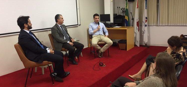 Encontro reuniu formandos de várias faculdades de Belo Horizonte no Corecon-MG