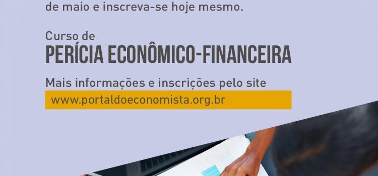 O CURSO DE PERÍCIA ECONÔMICO-FINANCEIRA É UMA OPORTUNIDADE INCRÍVEL PARA PROFISSIONAIS E ESTUDANTES DE ECONOMIA. RESTAM POUCAS VAGAS!