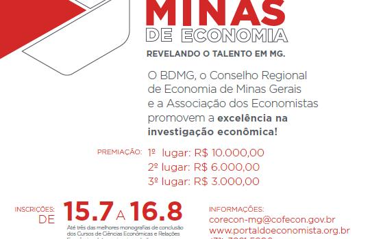 XXXI PRÊMIO MINAS DE ECONOMIA DIVULGA REGULAMENTO