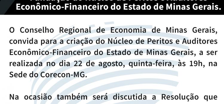 Fundação do Núcleo de Peritos Econômico, Financeiro e Internacional do Estado de Minas Gerais