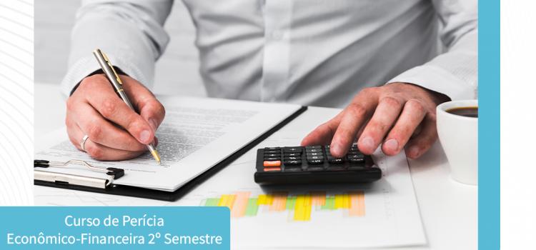 ÚLTIMAS INSCRIÇÕES PARA O 2° CURSO DE PERÍCIA ECONÔMICO-FINANCEIRA