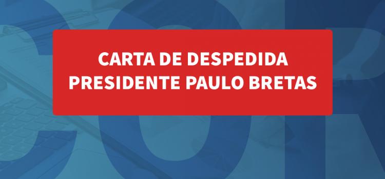 Economista Paulo Bretas despede-se da presidência do Corecon-MG após três anos de gestão